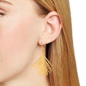 Gorjana Jewelry - New Gorjana gold palm drop earrings